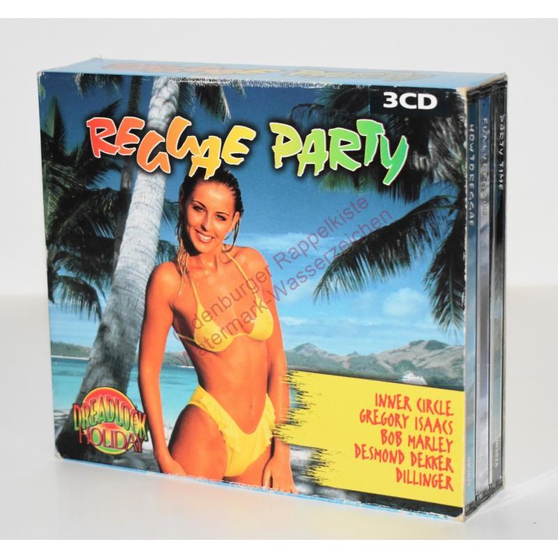 REGGAE PARTY - 3 CDs - DH 302 - MINT - - V.A.