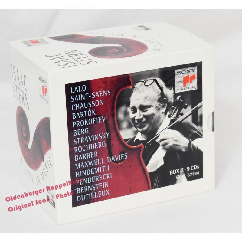 A LIFE IN MUSIC * Box II - 9 CD´s * MINT * - Sony Classical -  Stern,Isaac