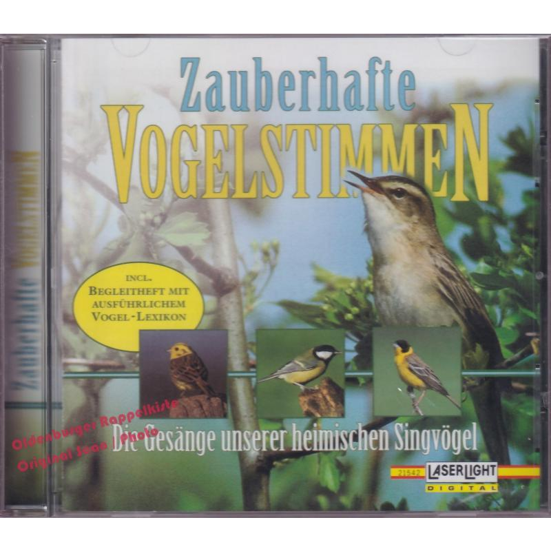 Zauberhafte Vogelstimmen - Die Gesänge unserer heimischen Singvögel * OVP *  - Tucker, Nigel