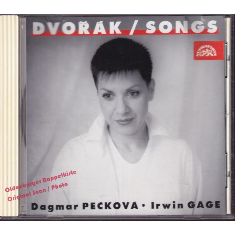 DVORAK: Songs by Dagmar Peckova (Voice) and Irwin Gage (Piano) * VG *