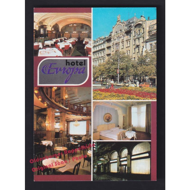 AK  Hotel EUROPA  Prag  Praque  Praha