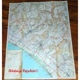 Karte/ Mappa :  Massa Carrara e dintorni  (1969 ) - Litografia Artistica Cartografica