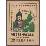 Führer durch Mittenwald und Umgebung (um 1950) - Karl,J.B.  u.a.