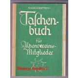 Anschriften-Taschenbuch für Alpenvereins-Mitglieder (1943) -  Deutscher Alpenverein