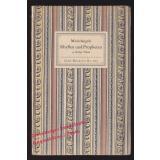 Sibyllen und Propheten: 24 farbige Tafeln nach den Fresken in der Sixtinischen Kapelle: Insel-Bücherei Nr. 165 (1939)  - Michelangelo
