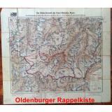 Karte: Die Gletscherwelt der Inner-Oetzthaler Alpen (1929) -