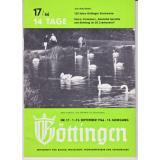 14 Tage Göttingen 17/66.  13.Jahrgang - Fremdenverkehrsamt Göttingen (Hrsg.)