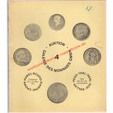 Auktion 4 Talersammlung nach Davenport - Galerie des Monnaies (Hrsg)