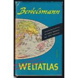Bertelsmann Weltatlas - Jubiläumsausgabe  (1958)  - Lenz,Werner (Bearb.)