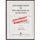Contributions to psychological acoustics results of the eighth Oldenburg Symposium on Psychological Acoustics  - Schick, August [Hrsg.]