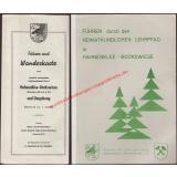 Führer und Wanderkarte Hahnenklee-Bockswiese (Oberharz) 1.25000 ( ca.1970) - Reise - und Verkehrsbüro Erwin Bertsch (Hrsg)