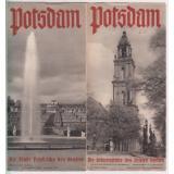 Info / Werbe - Flyer:  Potsdam (1935)  - Landesverkehrsamt Berlin-Brandenburg