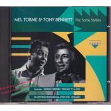 The Song Stylists -  Mel Torme & Tony Bennett  * MINT * Charly Records - CDCD 1076