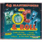 40 Masterpieces of Rock & Roll - 2 CDs - * MINT * Laserlight  CD 24 393/1