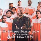 The Chicago Gospel Spirit * Live in Germany * Ricky Dilliard & New G  * VG * - Dilliard,Ricky
