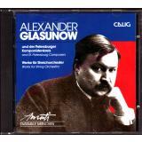 Alexander Glasunow und der Petersburger Komponistenkreis - Werke für Streichorchester  - neuwertig - - Amati-Ensemble München