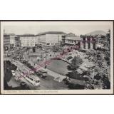 AK Hannover Ernst-August-Platz und Hauptbahnhof gel. 1956 -