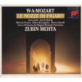 LE NOZZE DI FIGARO (Hochzeit des Figaro) Lucio Gallo,.. * Box 3CD* MINT  - Mozart,W.A. / Mehta,Zubin (Conductor)