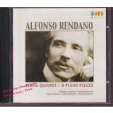 Piano Quintet - 9 Piano Pieces   * MINT * - Rendano, Alfonso