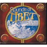 Sounds of Tibet - A journey to the top of the world   * 3 CD-Box * VG *  KBOX3301    - Various