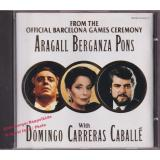 From The Official Barcelona Games Ceremony  * CD * MINT *  - Domingo-Carreras-Caballé-Aragall-Berganza-Pons