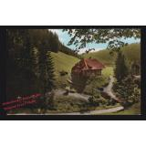 AK  Felsenhaus bei Todtmoos Hochschwarzwald coloriert gelaufen 1965