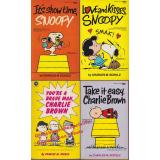 4 x PEANUTS: Take ist easy,Charlie Brown; It´s showtime,Snoopy,...  - Schulz,Charles M.