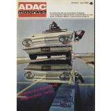 ADAC motorwelt April 1965  - ADAC (Hrsg)