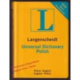 Langenscheidt Universal Polish Dicitionary (English-Polish / Polish-English)